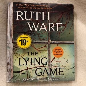 ⭐️ Ruth Ware The Lying Game Audiobook Book 11 CDs